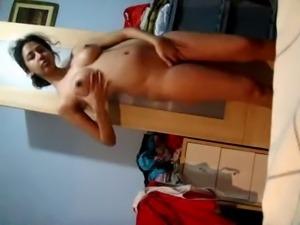 Indian Teen Recording Herself