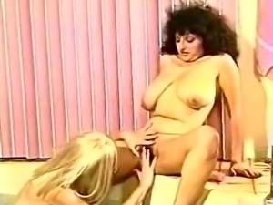 Classic Lesbian Bra Busters