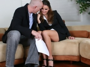 Allie Haze knows that her hole craves for a prick