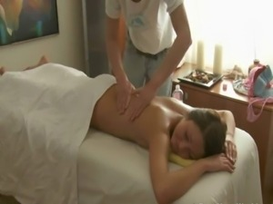 Giving hot massage pleases playgirl free