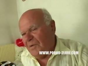 Grandpa fucks a Blonde 18 Year Old free