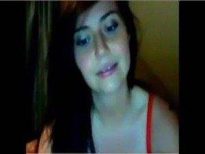 Funny camgirl finger masturbation on webcam free
