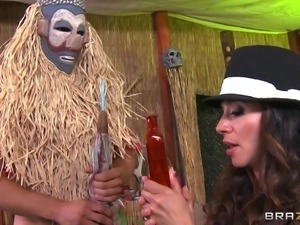 sexy milf visits witch doctor
