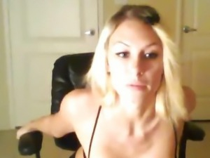 Very Hot Sexy Blonde with Big Natural Tits