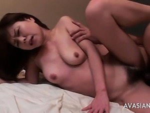 Skinny Asian Almost Cries During Anal Sex