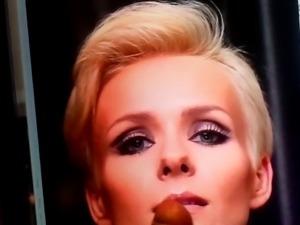 Polish actress Aneta Zajac cum tribute
