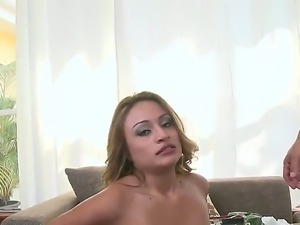 Enjoy staring at the wild banging with Bruno and Natalia Robles. The girlie...