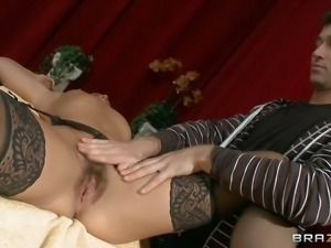 MILF Inari Vachs is a theater producer that seduces young