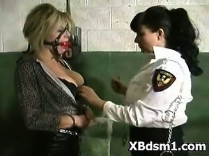 Kinky Girl BDSM Makeout And Submission