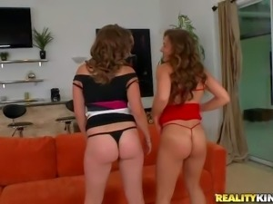 Jmac enjoys in getting a chance to watch two hot