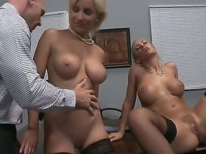 Johnny Sins,Lexi Swallow,Mick Blue and Nicole Aniston are part of a nasty...
