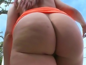 The sympathetic redhead whore Kelly Divine with colossal ass demonstrates her...