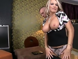 Lucky guy Winnie surprises us with his another crazy hot and stunning...