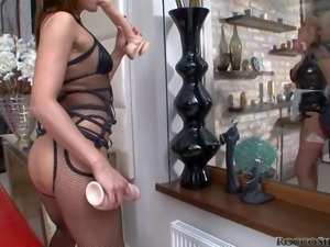 Andy Brown and Colette B, slave girl and maid, are