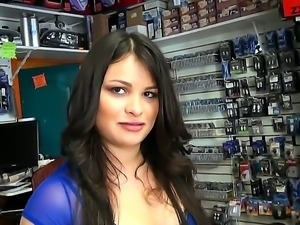 Jmac enjoys having wild sex with horny babe Sofia Andrea that makes him cum