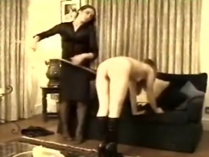 A straight-ahead caning from the end of a golden oldie (hence the less than...