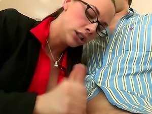 Check out this naughty chicks Brooklyn Lee and Chanel Preston passionately...
