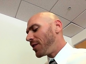 Johnny Sins is extremely horny and he is ready for all kinds of oral games...