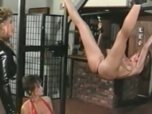 Naughty lesbians get tied and punished