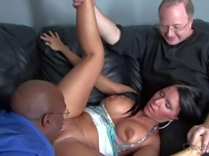 Kendra Secret is a black haired sexy milf with big