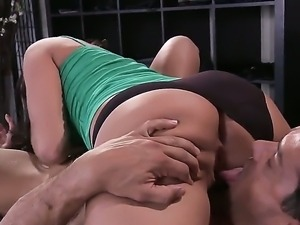 Hot Gracie Glam is having intense pleasure fucking her step brother Ramon
