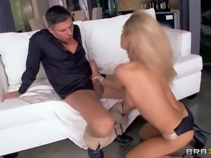 Devon is a glamorously beautiful blonde MILF with big tits.
