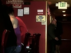 Asa Akira,Johnny Sins,Presley Maddox and Sabrina Maree in wild lesbian orgy