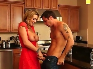 Tanya Tate called furniture-maker Alan Stafford to install her kitchen...