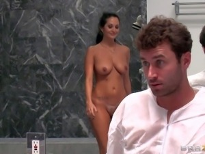 Sex starved MILF Ava Addams takes thick throbbing cock of