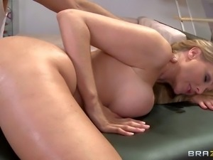 Julia Ann is a hot bodied woman with bubble butt
