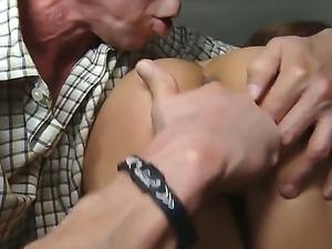 Superb hottie Melanie Rios enjoys hardcore oral sex with hot stalion Peter North