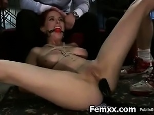 Dominatrix In Extreme Caning And Bondage