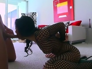 One of the hottest and horniest Asian pornstars - Asa Akira gets fucked in...