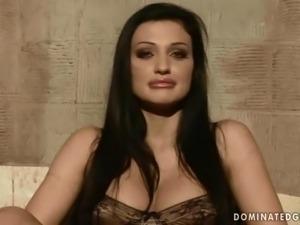 Aletta Ocean gets bondaged and punished