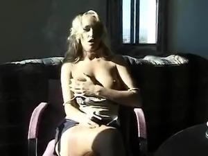 Smoking Fetish - Sophie Evans is smoking while masturbr