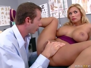 Gorgeous big titted MILF Shyla Stylez with huge tits has