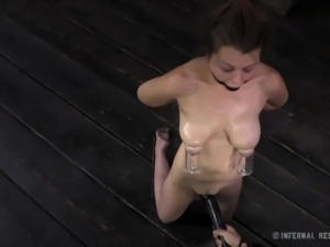 tit tortured whore that deserves it