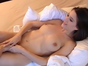 Innocent Sarah sucking cock