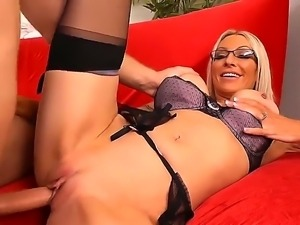 Danny Wylde becomes really wild today with this exciting blonde in sexy...