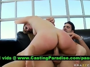 Lexi Belle stunning blonde riding huge cock