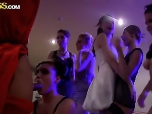 Melody, Mikaela, Stephanie and the rest of their sexy friends enjoy raunchy...