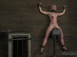 Kinky blonde bdsm bondage torture