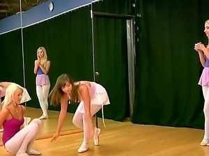 Enjoy three lesbian babes Breanne Benson, Louisa Lanewood and Sammie Rhodes...