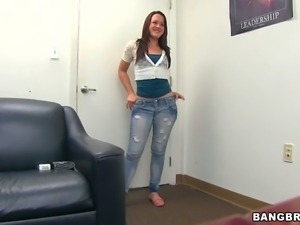 Izzy Ryder is a cute brunette that shows up at Prestons casting office. Long...