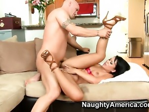 Derrick Pierce has fantastic anal sex with Kayme Kai