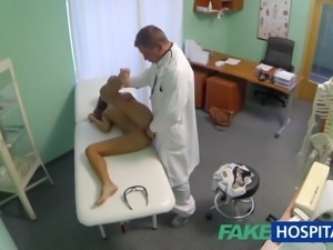 FakeHospital Spying on hot young babe having special treatment from the...