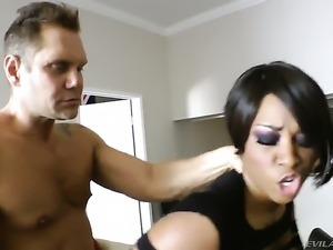 Nacho Vidal loves unthinkably hot Imani RoseS wet slit and fucks her as hard...