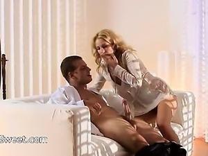 subtle blonde fucking hard in bedroom