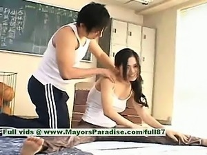 Sora Aoi hot girl lovely Chinese model enjoys getting teased