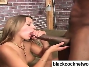 Mandingo nails Poppy Morgans white pussy
